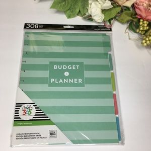 Budget Planner by The Happy Planner 308 pieces